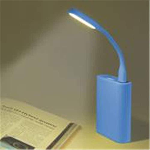 Qwer® Autodekoration Multifunktions Multicolor Mini USB Led Licht Auto Zubehör Auto Styling OrnamentBlau -