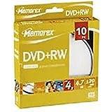 Memorex M00540DVD en blanc–DVD + RW vierges (DVD + RW, axe)