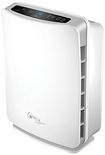 Winix U450 Luftreiniger (gegen Allergie, Gerüche, Staub, geeignet für große Räume, mit Fernbedienung, True HEPA, Plasmawave und Aktivkohlefilter, bis zu 96m²)