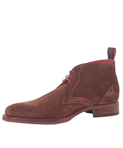 Jeffery-West Men's Suede Dexter Rudy Chukka Boots 8 Tan