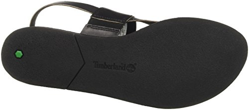 Timberland Carolista Ankle Thongblack Dry Gulch, Sandales Compensées Femme Vert (Black Dry Gulch)