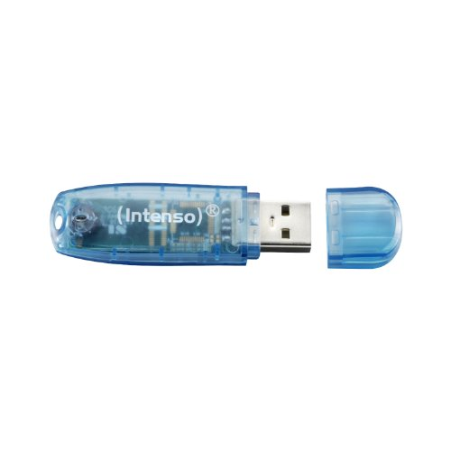 Intenso Rainbow Line 4 GB USB-Stick USB 2.0 blau