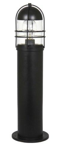 Ranex 5000.364 Borne de Jardin Memphis Aluminium Noir et Verre