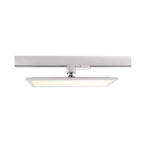 LED 3-Phasen Strahler PANEL TRACK LIGHT, 20W, 110-240V, 4000K, IP20, weiß mattiert EEK: A (Panel-track)