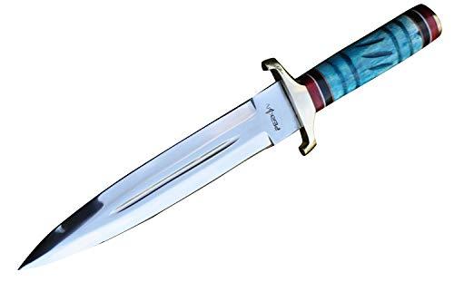 coltello da caccia a mano con fodero Coltello a lama fissa