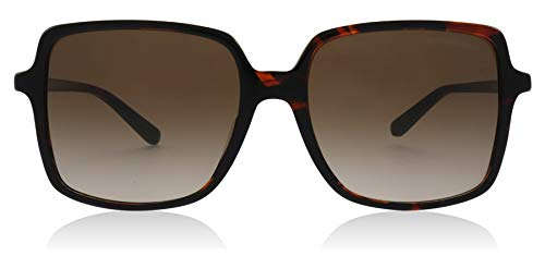 Michael kors occhiali da sole isle of palms mk 2098u dark havana/brown shaded donna