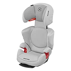 Maxi-Cosi Rodi AirProtect Child Car Seat, Highback Booster, Authentic Grey, 4.913 kg   1