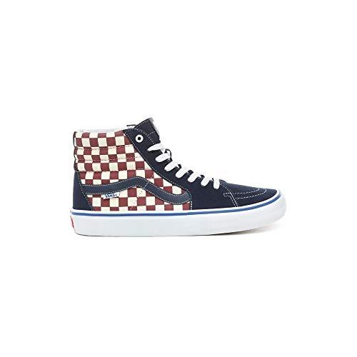 Vans SK8-HI PRO Schuh 2019 Checker/Dress Blues, 43
