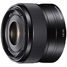 Sony SEL35F18 - Objetivo para Sony/Minolta (distancia focal 52.5-35mm, apertura f/1.8-22, estabilizador) negro