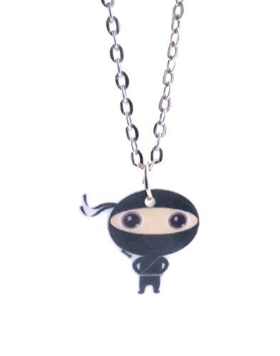 Kawaii Ninja Kette 60 cm Sport Schmuck Anhänger (Kawaii Ninja)