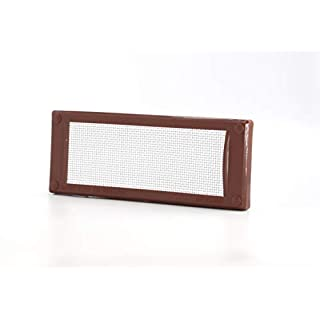 Mousemesh 00022 Small Pest Proofing Air Brick Vent Cover, Brown