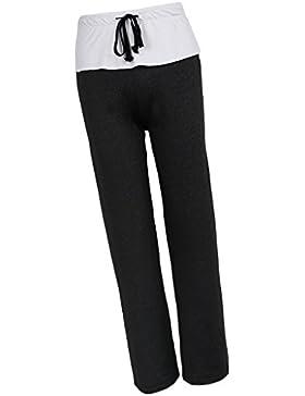 Baoblaze Pantalones Anchos de Cintura Alta Apariencia Atractiva Cómoda Suave Tacto Muchachas Mujeres