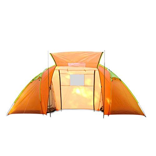 Sakuldes 3-4 Personen Robustes Zelt Zwei Schlafzimmer,