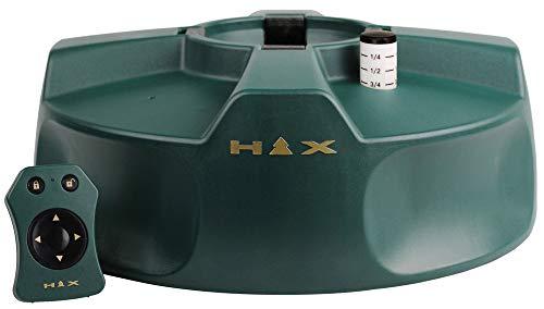 HTX - Happy Tree Xmas - Elektrischer Christbaumständer mit Fernbedienung - Baumhöhe bis 2,70 m, Stammdurchmesser 12 cm