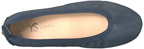Yosi Samra Samara Flat 2 W, Ballerine Donna blu (navy)