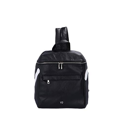 Ynot? Backpack Black/White 001 F0
