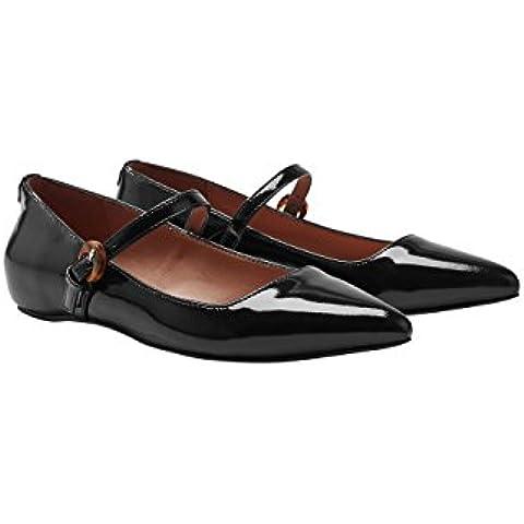 next Mujer Zapatos Zapatillas Merceditas Mary Jane Puntera En Punta