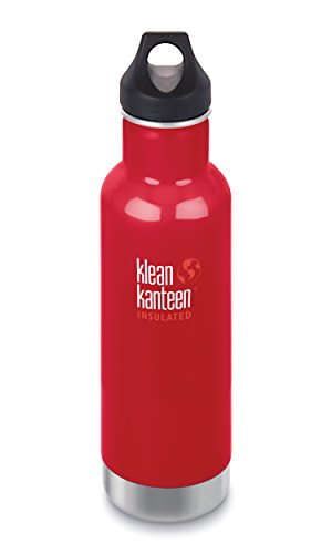 KLEAN KANTEEN 592ML LOOP CAP - MINERAL RED
