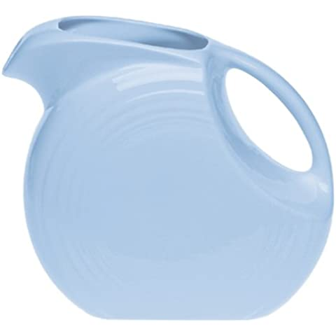 Fiesta Periwinkle 484 67-1/4-Ounce Large Disk Pitcher by Homer (Homer Laughlin Wells)