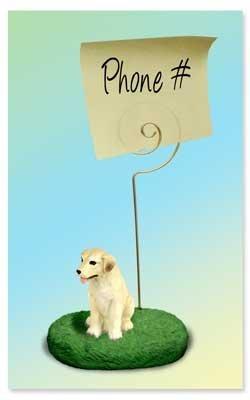 Labrador di peluche, Labrador, Retriever scrivania-Porta Memo Conversation Concepts
