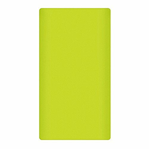 Heartly Strip Style Soft Silicone Pouch Protector Cover Case For 10000mAh Mi Power Bank 2 (Version 2) - Great Green  available at amazon for Rs.299