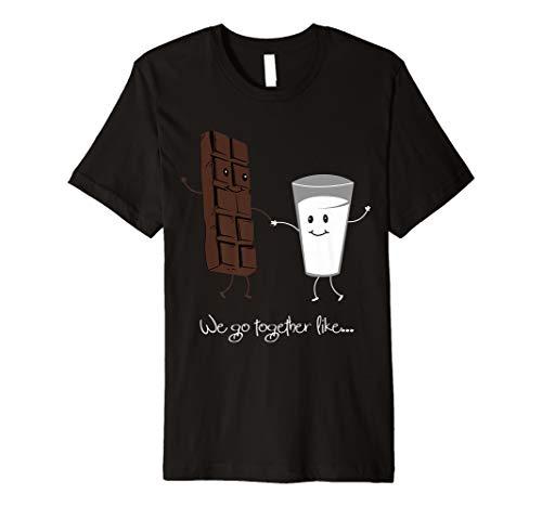 Zusammen Schokolade Milch Valentinstag Geschenk Shirt Idee - Milch-schokolade