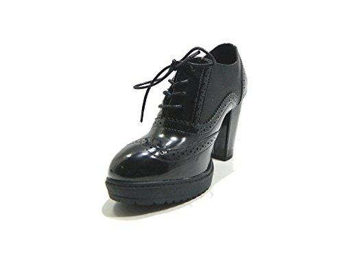 Chaussures Femme Xti 47219 Francesine Heel 9 Noir Noir