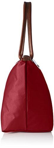 Longchamp Damen Le Pliage Large Tote Bag, 19 x 30 x 31 cm Rot (Grenat)