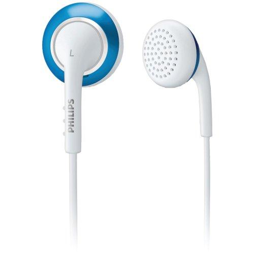 Philips SHE2643/27 cuffia Intraurale Auricolare Blu, Bianco
