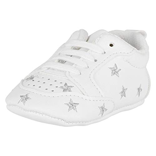 Krexus Sportschuhe für Babys Sport&Funny Silberne Sterne Gr. 12-18 Monate XB01200_12