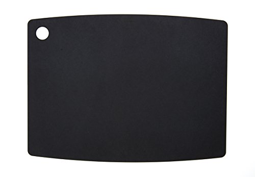 Epicurean Kitchen Series Cutting and Chopping Board, Compressed Wood Composite Black Slate, 44.5 x 33 cm