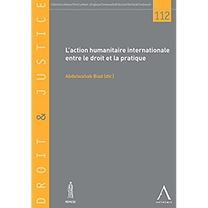 L'action humanitaire internationale entre le droit et la pratique: Les enjeux et le cadre du drame humain d'aujourd'hui (DROIT & JUSTICE t. 112)