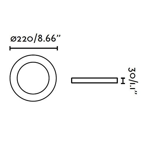 Faro-42927-TOD-LED-Lampada-incasso-bianca