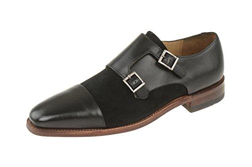 Gordon & Bros  4924-i, Chaussures de ville à lacets pour homme Schwarz