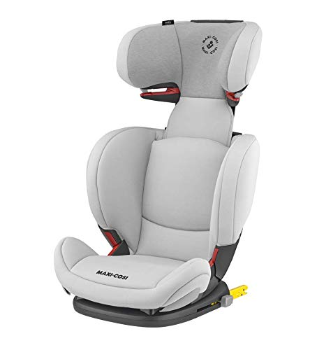 Maxi-Cosi RodiFix AirProtect Child Car Seat, Isofix Booster Seat, Grey, 15-36 kg Maxi-Cosi Booster car seat for children from 15-36 kg (3.5 to 12 years) Grows along with your child thanks to the easy headrest and backrest adjustment from the top Patented air protect technology for extra protection of child's head 1