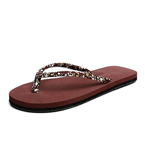 BSTLY Damen Sommer Schuhe Strand Sandalen Indoor Outdoor Flip Flop Gravis Flip Flops