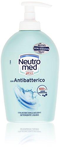 Neutromed - Detergente Liquido, Con Antibatterico Naturale - 300 Ml