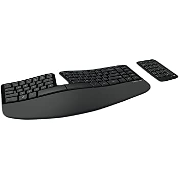 Microsoft 5KV-00001 Sculpt Ergonomic Wireless Keyboard for Business