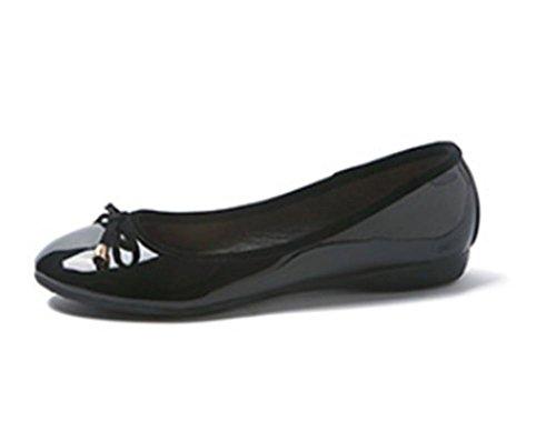 pengweiScarpe piatte piatte scarpe superficiali poco profonde piane scarpe singole scarpe casual Black