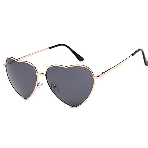 OULN1Y Sport Sonnenbrillen,Vintage Sonnenbrillen,Vintage Heart Sunglasses Women Candy Color Gradient Sun Glasses Outdoor Goggles Party