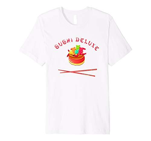 Sushi Deluxe süßes Shirt Kinder,Mädchen,Frauen mit Stäbchen
