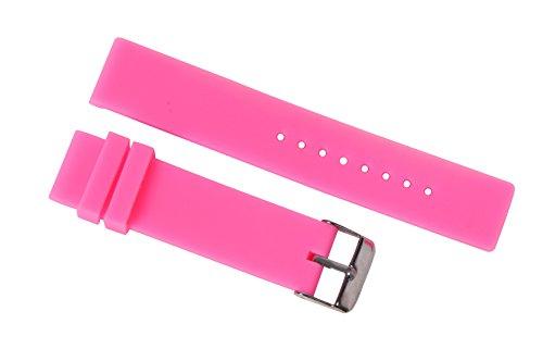 vividi orologio rosa cinghie di sostituzione banda di silicone 18mm delle...