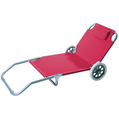Gruppo maruccia spiaggina trolley pieghevole sedia per spiaggia con ruote carrello per spiaggia
