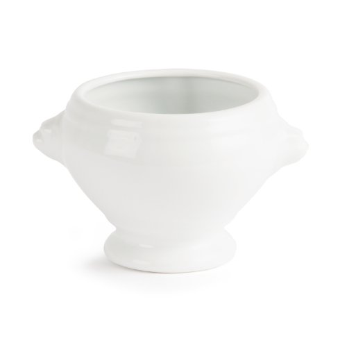 31RWFYThBeL. SS500  - 6X Olympia Whiteware Lion Head Soup Bowls 475ml Porcelain Kitchen Dish