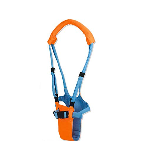 1PC arnés de Walker para Toy Aprendizaje Walker de niño del bebé ajustable del cinturón de seguridad del arnés del niño (naranja)