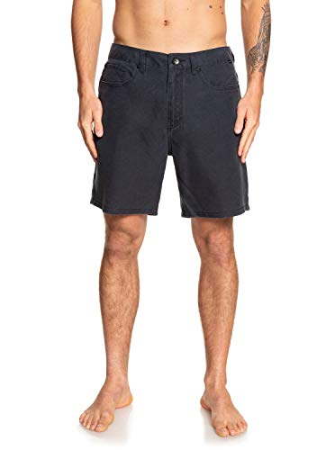 Quiksilver Herren Nelson Surfwash Hybrid Shorts, Black, 32