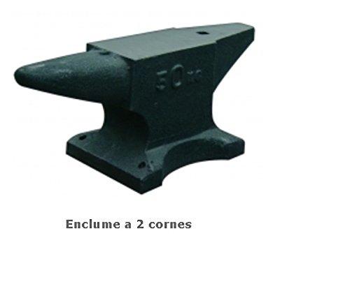 Outifrance 1539010yunque de hierro fundido con 2Cuernos, 10kg