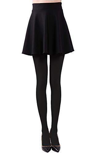Vellette Medias Mujer calcetines Opacas invierno Leggings