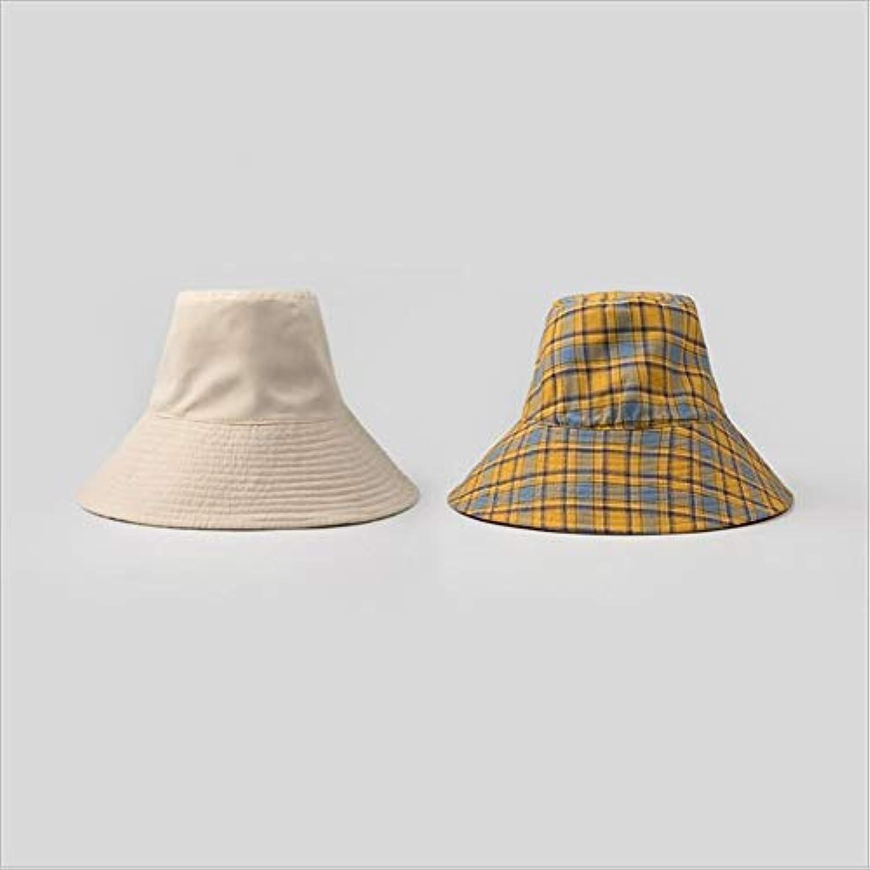 Fzwang Le Signore Cappelli Casual ombreggiatura Ombra Doppio Prossoezione Tappo  di Panno di Prossoezione Doppio Solare bee0a6950a75