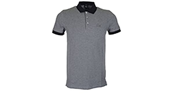 2d1451c4 Hugo Boss Phillipson 26 Pique Polo Grey 030 50378417 Large: Amazon.co.uk:  Clothing